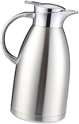 freneci 2 x roestvrij staal geïsoleerde thee koffiepot karaf thermokan 1,8 + 2,3 L