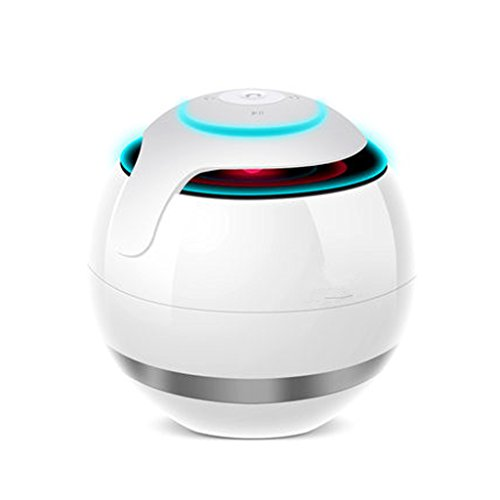 Bluetooth Audio Box Portable Colorful Ball Wireless Sound box outdoor Card Plug-in Free Call Loudspeaker Box by Cherlvy