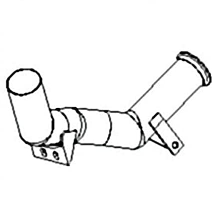 Amazon Com All States Ag Parts Exhaust Elbow Pipe Ford Tw30 8630