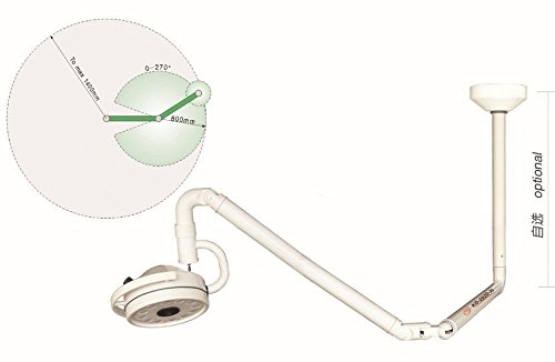 36 W Ceiling LED Surgical Medical Exam Light Shadowless Lamp KD-202D-3C