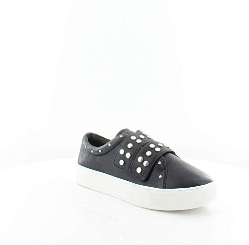 Rebecca Minkoff Natasha Women's Fashion Sneakers, Black Lamba, Size 7.0