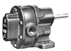 200 PSI 3//4 in CW S-Series Pedestal Mount Gear Pumps 16.2 gpm Relief Valve
