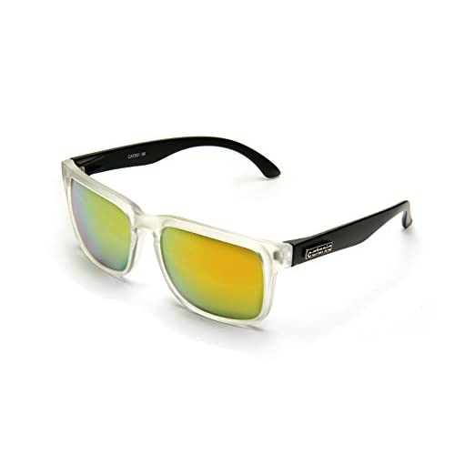 db5f375051 Catania Occhiali Gafas de Sol - Modelo Wayfarer Vintage Classic - Gafas  Unisex - (Cristales