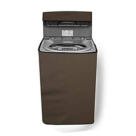 Stylista Washing Machine Cover for LG T7208TDDLZ 6.2Kg Fully Automatic Top Load Beige Washing Machine Covers