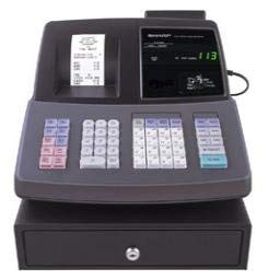 Sharp XE-A507 Cash Register 20 depts / 99 with shift (XE-A507)