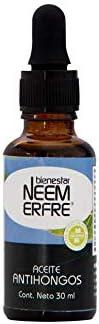 Aceite Antihongos de NEEM Orgánico TEA TREE y Extracto Oleoso de Toronja - Azadiractina - Natural Vegano Biode