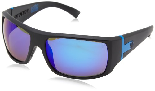 Dragon Alliance Vantage Matte P2 Sunglasses, H2O/Blue Ion