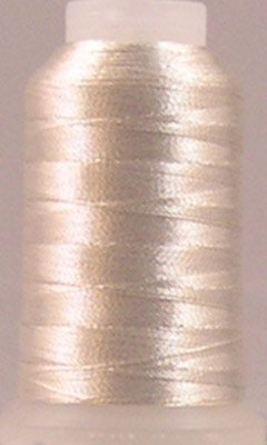 YLI 20503-SIL T-24 Fine Metallic Nylon Thread, 500 yd, Silver - Fine Metallic Nylon Thread