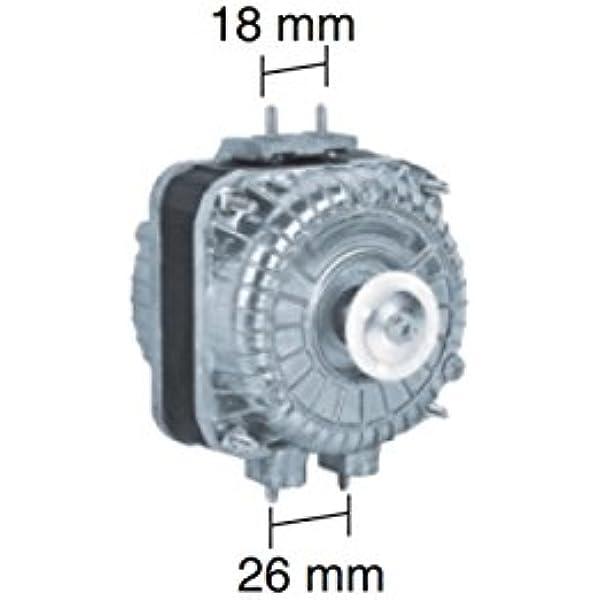Motor multianclaje para ventilador frigorífico 10W: Amazon.es ...