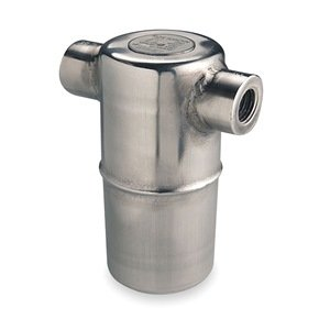 Steam Trap, 400 psi, 800F, 4-5/16 In  L: Wood Floor Coverings