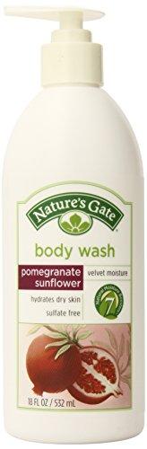 Ворота Гранат подсолнечника Velvet влаги Body Wash природы, 18-унция бутылки (комплект из 2)