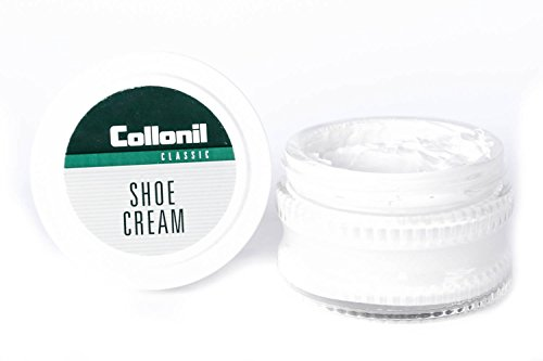 Collonil White Cream Polish for smooth leather Shoes Boots Handbags