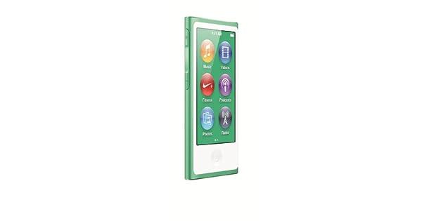 Apple iPod nano 16GB MP4 player 16GB Verde - Reproductor MP3 ...
