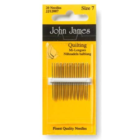 (Colonial Needle Quilting/Betweens Hand Needles-Size 5/10 20/Pkg)