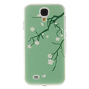 get Peach Blossom Pattern Plastic Protective Hard Back Case Cover for Samsung Galaxy S4 I9500