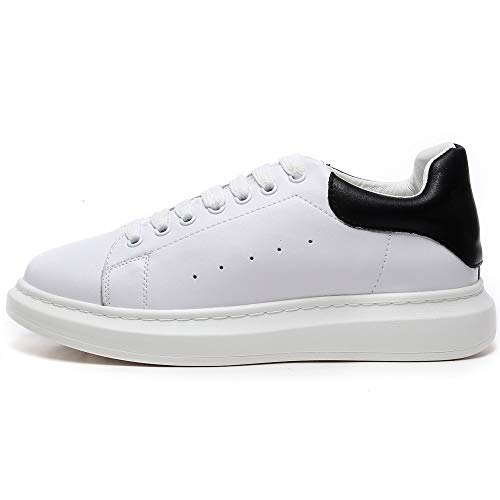 Ginnastica Leggera n Platform Outdoor Con Bianco Sneaker Da Donna Piattaforma Suola Bianco Comoda Scarpe Basse Yorwor ZE07Yq