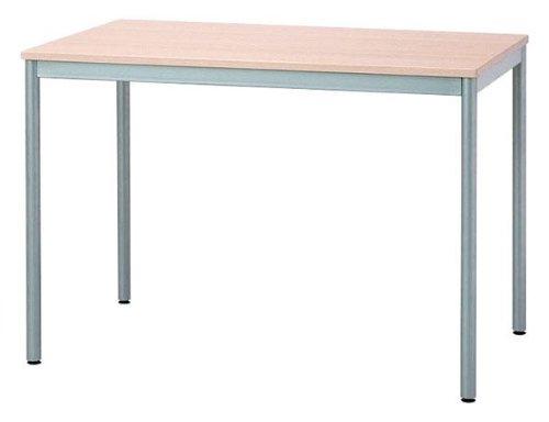 てーぶる 机 おしゃれで便利なテーブルです。 家具 オシャレ ユニットテーブル1000×600 NM(ナチュラル木目) B011K8UZLE