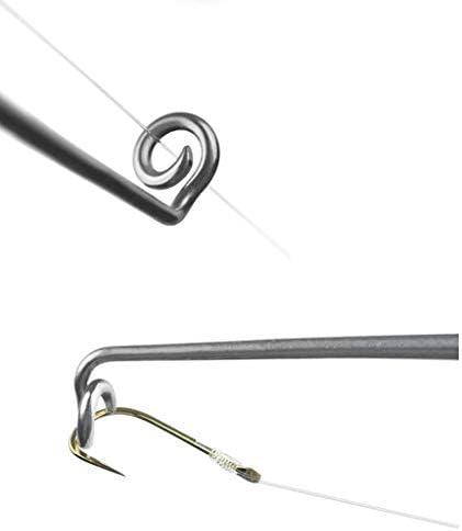 Sharplace 3ピース 釣りフックリムーバープーラー釣り針 デタッチャーディスゴージャーシリコンハンドル