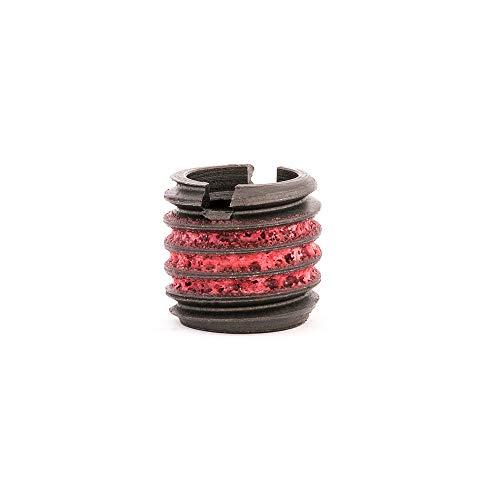 Brass Handle Insert - E-Z Lok Externally Threaded Insert, C12L14 Carbon Steel, Meets AISI 12L14, 3/8