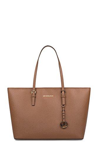 Michael Kors Borsa Shopping Donna 30T5GTVT2L230 Pelle Marrone