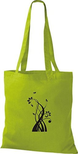 Shirtinstyle Kiwi For Cotton Women Fabric Bag rBxCrRqZ