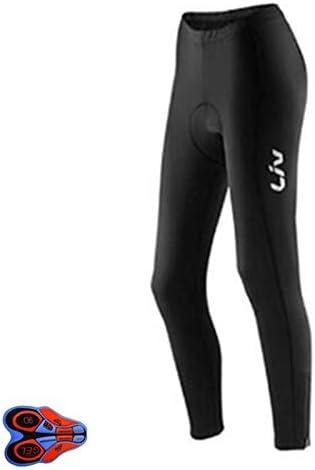 PDHJHT Negro//Rojo Verano oto/ño Pantalones de Ciclismo 9d Gel Pad Bike Pantalones de Bicicleta Long Culotte Ciclismo Mujeres Ciclismo Wear S 5