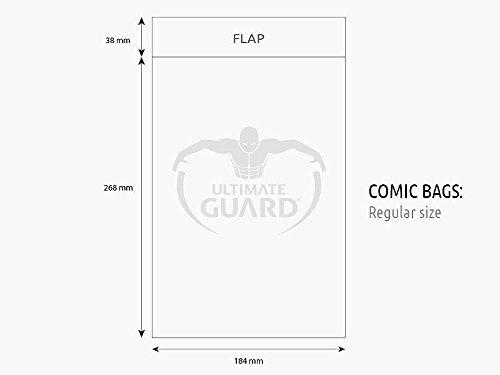 Regular, Transparent Ultimate Guard Comic Sacs
