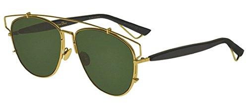 - Christian Dior TECHNOLOGIC gold dark blue/green (1UU/O7) Sunglasses
