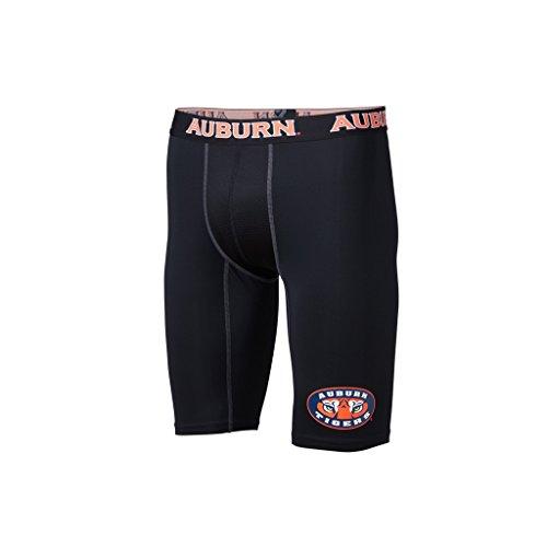 FANDEMICS NCAA Auburn University Men's Compression Short, Men's Small (28-30) ()