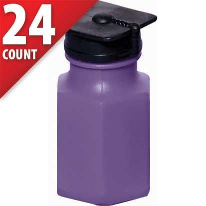 (Graduation Purple Bottle Top Bubbles 24ct)