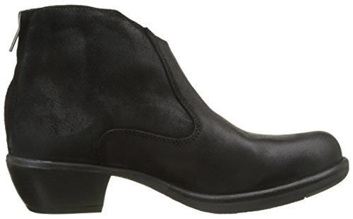 Fly London Mack045fly, Botas Para Mujer Negro (Black)