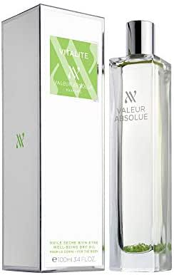 Valeur Absolue Vitalité Dry Oil | Uniquely Crafted to Invigorate & Soften Skin | Zesty & Sweet | Handmade in Southern France | 3.4 Fluid Ounces