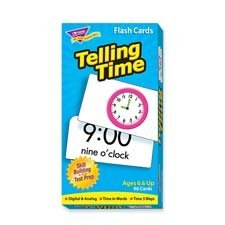 TEP53108 - Trend Telling Time Flash Card