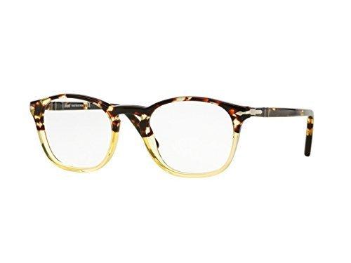 Persol Montures de lunettes 3007 Obsidian, 48mm 1024: Ebony / Gold