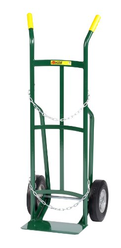 Little Giant TW-42-10 Single Cylinder Cart Truck with Dual Handle, 10