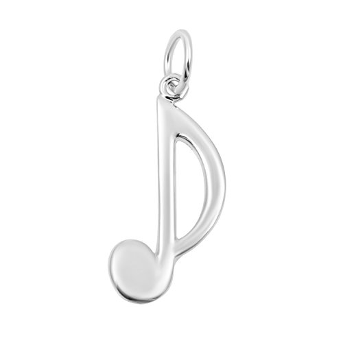 Necklace & Bracelet Charms - Music Themed Sterling Silver Fine Jewelry by Silver on the Rocks