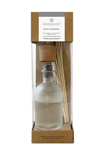 Chesapeake Bay Candle Reed Diffuser, White Gardenia