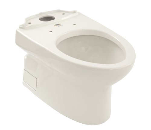 TOTO CT764SG-01 Vespin Elongated Sanagloss Bowl, Cotton White (bowl only, tank not included) ()