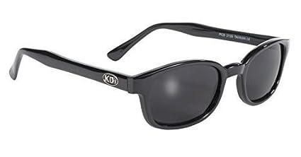 Original X-KD del motorista de las gafas de sol que llevaban los JAX CAJERO en Sons of Anarchy (Gris oscuro) X-KD