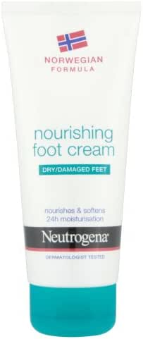 Neutrogena Norwegian Formula Nourishing Foot Cream For Dry Or Damaged Feet 100Ml