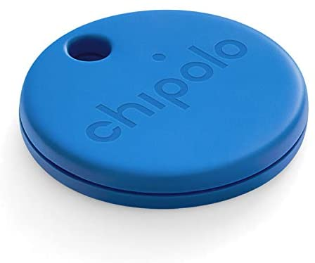 Chipolo ONE (2020) – Loudest Water Resistant Bluetooth Key Finder (Blue)
