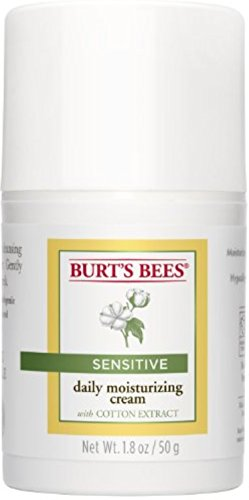 (Burt's Bees Sensitive Daily Moisturizing Cream 1.8 oz (Pack of 4))