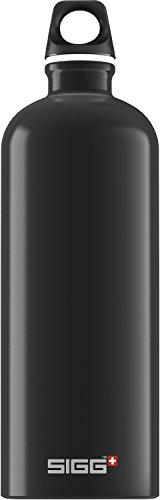 Sigg Traveller Water Bottle (Black, 1.0-Litre)