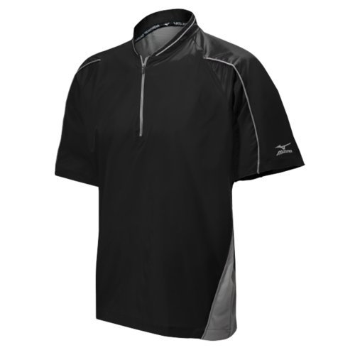 Mizuno Youth Protect Batting Jersey B00NJ0W7KO Large|ブラック ブラック Large
