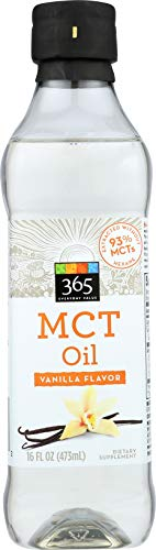 (365 Everyday Value, MCT Oil, Vanilla Flavor, 16 fl oz)
