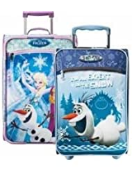 Frozen or Olaf 18 Carry on Luggage Sleep Over Bag By American Tourister