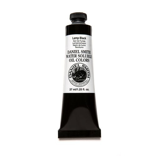 Daniel Smith 284390013 Water Soluble Oils Paint Tube, 37 ml, Lamp (Black Light Sensitive Paint)