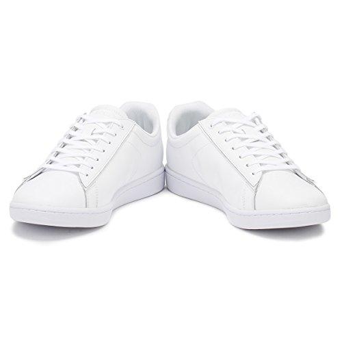 Lacoste Women's Carnaby Evo 417 1 SPW Low-Top Sneakers White BkQJL3ES