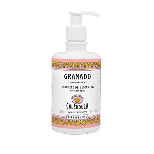 Linha Terrapeutics Granado - Sabonete Liquido de Glicerina Calendula 300 Ml - (Granado Terrapeutics Collection - Pot Marigold Glycerin Liquid Soap 10.1 Fl Oz)