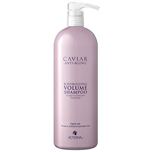 Caviar by Alterna Anti-Aging Bodybuilding Volume Shampoo 1000ml by Alterna (Shampoo Alterna Volume Caviar)